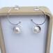 微供珍珠耳環淡水珍珠9-10mm圓珠S925純銀半球耳飾時尚