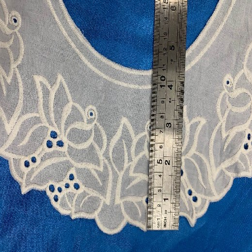蘭溪刺繡領花廠家