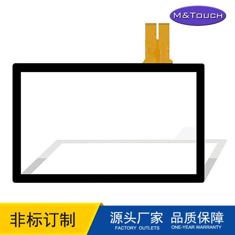 厂家直销12.1寸电容触摸屏防水防爆工业触控触