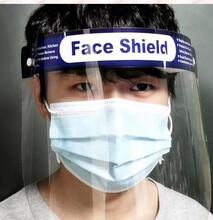 重庆高透防雾防飞沫防护面罩批发图片