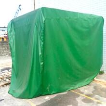 厂家直销全国物流通行防水帆布卷帘印花台皮盖货帆布图片