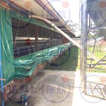 厂家直销全国物流通行PVC防水帆布定制养鱼池养虾池卷帘图片