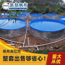 佛山厂家直销养殖镀锌板帆布鱼池防水帆布雨布批发