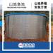 佛山帆布厂订做养殖养鱼帆布蓄水池高位水池镀锌板带马桶排水口