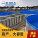 高密度鐵倉養殖防水池鍍鋅板養魚養蝦帆布池帶支架