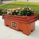 天津碳化防腐木花箱生產廠家,碳化木花池樹椅