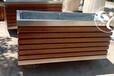 定制實木防腐木花箱樣式優雅,碳化木花箱
