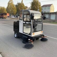 電動掃路車駕駛式掃地機山東廠家直銷包郵可開專票圖片