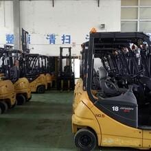 新乡进口平衡重电动叉车厂家价格图片