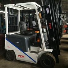郑州进口平衡重电动叉车供应商图片