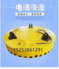 废钢起重电磁吸盘-电磁吸盘机图片