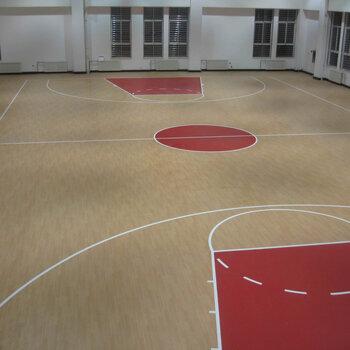 運動地板施工-深圳PVC地板鋪設-室內球場建設工程-長期
