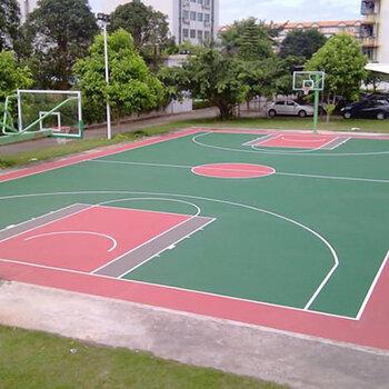 硅PU運動球場-深圳硅PU施工-運動球場建設-施工