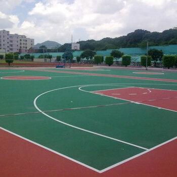 硅PU球場施工-運動地面施工-各類球場建設工程-施工