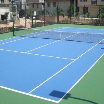 深圳硅PU球場施工-網球場施工-各類球場地面建設-施工