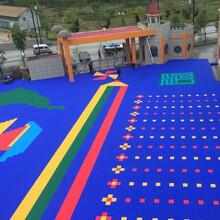 深圳懸浮拼裝地板-幼兒園操場懸浮地板-籃球場懸浮地板施工工程