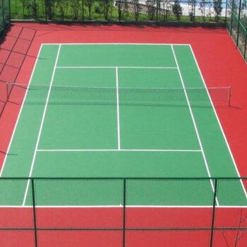 網球場施工-深圳硅PU地板施工-丙烯酸地板施工工程