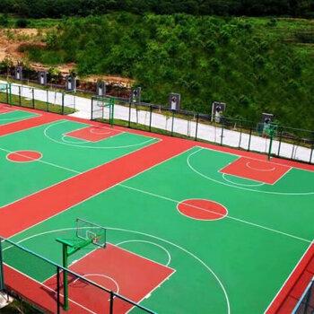 運動球場施工-硅PU籃球場施工-丙烯酸網球場建設工程
