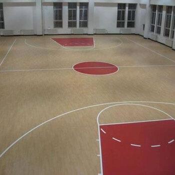 PVC地板鋪設-室內球場PVC地板施工-球場地面建設工程-