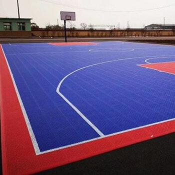 幼兒園懸浮地板拼裝-球場運動地板施工-深圳懸浮式拼裝地板