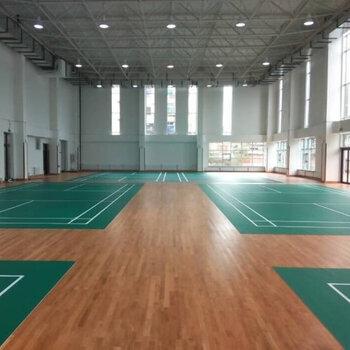 室外PVC地板-球場運動地板鋪設-室內球館建設工程-施工