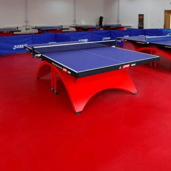 乒乓球館建設工程-深圳室內PVC地板鋪設-防滑運動地板施工