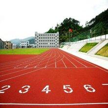 广东学校操场跑道-足球场跑道施工-塑胶跑道建设工程-施工图片