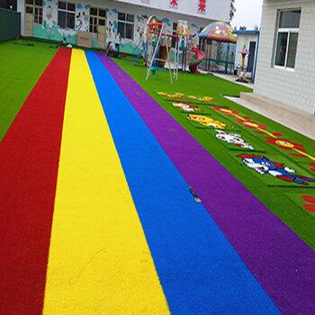 幼兒園建設工程-幼兒園草坪施工-深圳人造草坪施工-環保材質