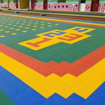 幼兒園懸浮地板施工-深圳懸浮地板拼裝-幼兒園操場地面施工