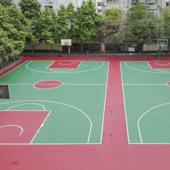 丙烯酸籃球場建設-丙烯酸運動場地施工-運動球場工程