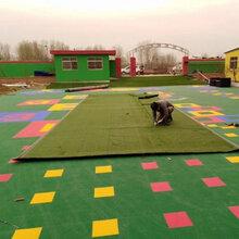 深圳休閑草坪鋪設-幼兒園操場建設-校園綠化草皮施工
