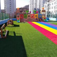 幼兒園草坪鋪設-學校操場施工-深圳幼兒園施工-安全