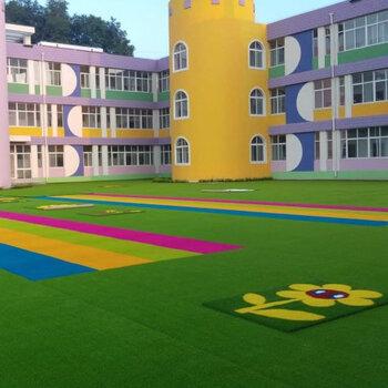 幼兒園草坪鋪設-學校操場施工-幼兒園施工-安全環保