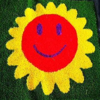 草坪施工工程-幼兒園草-足球場草坪鋪設-環保材質
