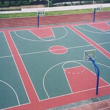 運動懸浮地板施工-深圳籃球場建設-硅PU地面施工