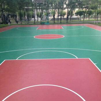 深圳硅PU球場建設-運動硅PU地面-室外籃球場施工工程