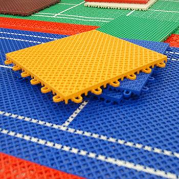 深圳運動懸浮地板工程-懸浮地板拼裝-球場工程建設