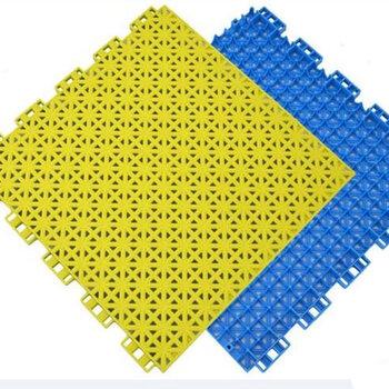 深圳懸浮地板拼裝-運動球場建設-懸浮地板廠家-排水防滑