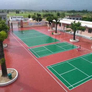 硅PU球場施工工程-深圳硅PU地面建設-籃球場網球場建設