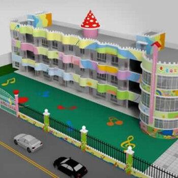 深圳幼兒園改造設計-幼兒園場地施工-外墻刷漆裝修