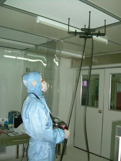 重慶無塵廠房第三方NEBB測試認證驗收測試,第三方認證