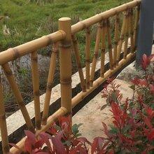 河道仿竹节安全防护栏A扬州河道仿竹节护栏安全仿护栏厂家图片