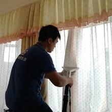 青島窗簾免拆清洗培訓服務圖片
