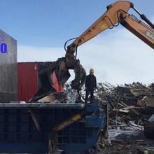 315噸中型打包機,鋼筋廢鋼邊角料打包機圖片