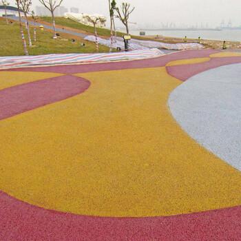 上海景观路面材料普陀透水混凝土材料