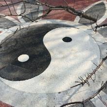 西藏阿里透水混凝土供應商彩色透水地坪圖片