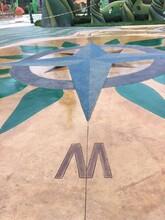 甘肅蘭州洗砂地坪施工報價藝術洗砂地坪施工流程圖片