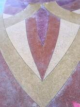 河北秦皇岛天然彩石洗砂地面彩色砾石聚合物混凝土图片