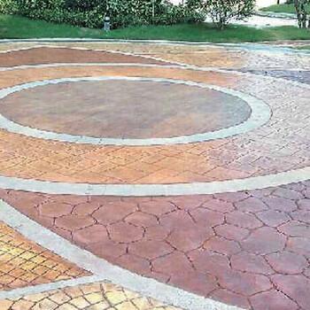 海南省直辖压花地坪系列压花混凝土包施工