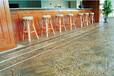 上海楊浦彩色壓模地坪材料施工仿石彩色地坪銷售